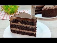 Ich habe noch nie so einen leckeren Kuchen gegessen!❗Das saftigste Rezept, das im Mund zergeht! #208 - YouTube Melt In Your Mouth, Chocolate Lovers, Empanadas, Yummy Cakes, Vanilla Cake, Tiramisu, Cheesecake, Cherry, Baking