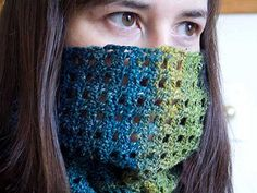 Flexi-cowl--cowl, scarf, convertible. Can use different weight yarns.