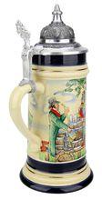 Mettlach Style Beer Stein - GermanSteins.com