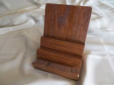Display Stand Oak 3.5 or 5.0 Width DS-100 by OakHillWoodCreations