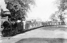 Het vervoer van tinerts per stoomtram, aan het begin van de 20e eeuw op Billiton