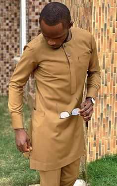African Male Suits, African Dresses Men, African Attire For Men, African Clothing For Men, African Wear, African Shirts, Nigerian Men Fashion, African Men Fashion, Dashiki For Men