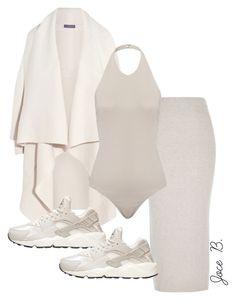 """""""Untitled #164"""" by styledbyjocelyn ❤ liked on Polyvore featuring Alexander McQueen, River Island and NIKE"""