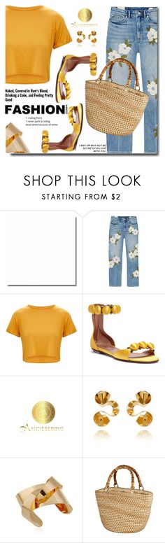 """""""Summer time"""" by soks ❤ liked on Polyvore featuring Rebecca Taylor, Alaïa, polyvoreeditorial and Angieberrys"""