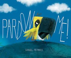 We laughed out loud when we finished Pardon Me.  Although this book has very few words on the page, the message(s) in this story about the importance of kindness are crystal clear for young readers. What a terrific text to use when first teaching students to infer.  Student's can't help but infer as they laugh and think about the way this text ends.