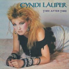 1980's. Cyndi Lauper. 1953-present. She is one of the icons for this era because she took many risks with her fashion and makeup. Makeup in the age was bold! People started mixing colors with eyeshadows. As far as blush goes, the more the better.