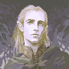 Legolas by Ulla Thynell on Tumblr