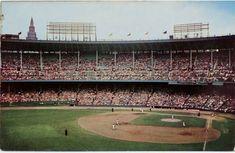 Cleveland Skyline, Cleveland Indians Baseball, Cleveland Ohio, Cleveland Browns, Columbus Ohio, Cincinnati, Cheap Baseball Caps, Baseball Guys, Baseball Park