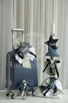 Σετ βάπτισης για αγόρι με αστέρια Christening, Soap, Gift Wrapping, Gifts, Baptism Ideas, Home Decor, Party Ideas, Wedding Ideas, Centerpieces