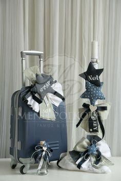 Μένη Ρογκότη - Σετ βάπτισης για αγόρι με αστέρια Christening, Soap, Gift Wrapping, Gifts, Baptism Ideas, Home Decor, Party Ideas, Wedding Ideas, Centerpieces