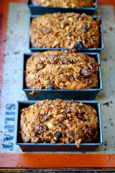 Granola Carrot Bread – Vegan