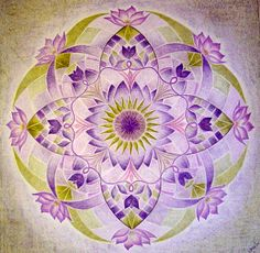 ☮ American Hippie Art ☮ Mandala ..