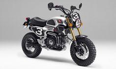 Honda Grom50 Scrambler Concept-One