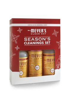 Mrs. Meyer's holiday sets. Also: http://www.mrsmeyers.com/product/Variety-Gift-Set/155709.uts (I like all of the scents!)