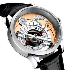 Greubel Forsey Invention Piece 1 - I know you don't wear watches, but seriously how cool is this?