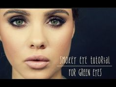 Smokey Eye Tutorial: For Green Eyes - YouTube
