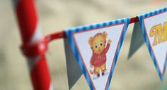 Free printable flag bunting with instructions