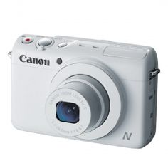 This camera has a viewfinder. When you're videoing yourself this can come in handy for sure. You'll always get the perfect angle you're looking for. Canon PowerShot - Digital camera - compact - Mpix - 5 x optical zoom - Wi-Fi - white Foto Canon, Telephoto Zoom Lens, Camera Shop, Optical Image, Cameras For Sale, Cmos Sensor, Canon Powershot, Wide Angle Lens