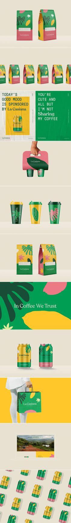 La Casiana coffee branding and packaging by Monajans – Fivestar Branding Agency Honey Packaging, Coffee Packaging, Coffee Branding, Food Packaging, Brand Packaging, Packaging Design, Collateral Design, Brand Identity Design, Graphic Design Branding
