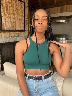 Taking on Tennessee for the launch of new skincare line! Braids Hairstyles Pictures, African Braids Hairstyles, Black Girls Hairstyles, Braided Hairstyles, Retro Hairstyles, Black Girl Braids, Girls Braids, Curly Hair Styles, Natural Hair Styles