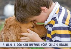 Improve your childs health http://slimdoggy.com/4-ways-a-dog-can-improve-your-childs-health/