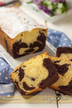 Plumcake panna e cioccolato bicolore ricetta