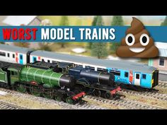 The Worst Model Trains of 2019 Model Trains, Youtube, Model Train, Youtubers, Youtube Movies