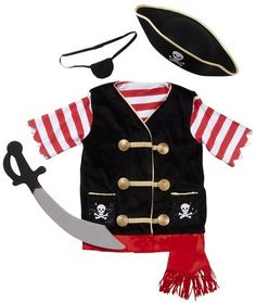 Pirate costume for H.