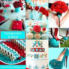 mesmerizing turquoise color scheme turquoise and red wedding colors turquoise color schemes for weddings
