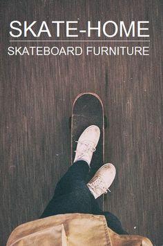 skate-home, skateboard furniture Selfie Foto, Rauch Fotografie, Skate Girl, Longboarding, Foto Pose, Skateboards, Mode Style, Surfboards, Surfing