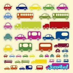 Free Toy Cars and Bus Vector Car Vector, Free Vector Art, Vector Graphics, Monsieur Madame, Car Illustration, Silhouette Cameo Projects, Car Stickers, Sticker Design, Graphic Design Art