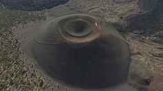 volcano aerial - Google Search