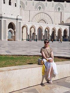 In Casablanca, visiting Hassan II Mosque