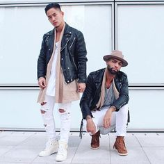 WEBSTA @ jaii_c - Twin for life .. with my G @stephanethakid Wearing tha new Cardigan @champaris75 #champaris #champaris75