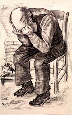 Vincent van Gogh (Dutch: 1853 – 1890) | Worn Out (1882)