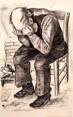 Vincent van Gogh (Dutch: 1853 – 1890) | Worn Out (1882)