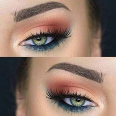 Pretty Eye Makeup Looks for Green Eyes Have green eyes and unsure of what eyeshadow will make them pop? Here are 31 gorgeous eye makeup looks!Have green eyes and unsure of what eyeshadow will make them pop? Here are 31 gorgeous eye makeup looks!