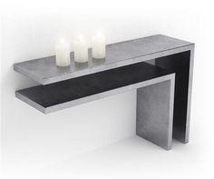 Concrete table | béton ciré | Concrete product design | Concrete | Interior…