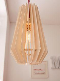 Haz tu propia lámpara de diseño en madera