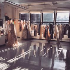 Shades of light in our studio today! It's a beautiful day in NYC! #christiansiriano