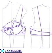 Pattern and process of sewing bra.