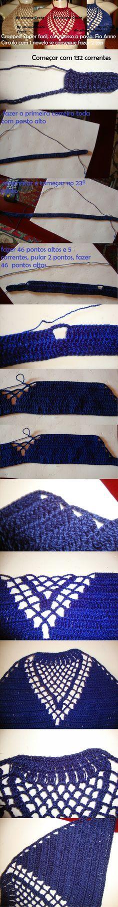 Biquinis de croche - Inspiração