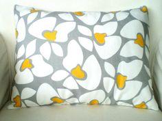 Throw Pillow Cushion Cover 12 x 16 Lumbar Corn by fabricjunkie1640, $14.00