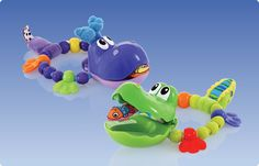 Nuby Clackin Cutie Teethers -Chomp chomp..what a cute teether!!!   #Nuby