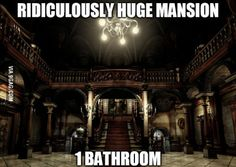 Realized this logic while playing through the Resident Evil remake
