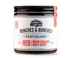 Branding agency, Miller Creative was tasked by Bunches  Bunches, a gourmet food company based in Portland, Oregon to create the brand identity and packaging for their line of savory products, Provisions.