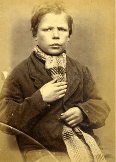 26 Fascinating Mug Shots Of Criminals In The 1870s: At the young age of 14, Henry Miller was charged with the theft of clothing and sentenced to 14 days of hard labor for his crime.