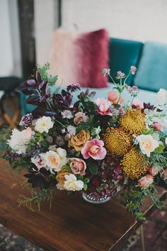Winter wedding flowe