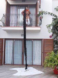 Asha Zulu Mandela longest LOCKS in the World