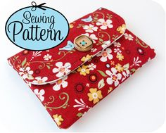 Basic Wallet Sewing Pattern - PDF (Email Delivery) - Instructions to Make it Yourself
